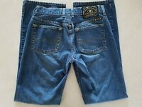 Lucky Brand Womens Jean Size 6 6/28 Jeans Medium Wash Dungarees Easy Rider