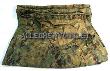 "USMC Military MARPAT Woodland Digital REVERSIBLE FIELD TARP 90""x 80"" VERY GOOD"