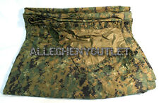 "USMC Military MARPAT Woodland Digital REVERSIBLE FIELD TARP 90""x 80"" GOOD"