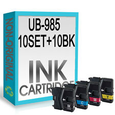 50 Ink Cartridge Replace For LC985 DCP-J125 DCP-J140W DCP-J315W DCP-J515W