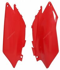 Tabelle laterali portanumero Side panels Honda CRF 250 2011-2013 Rosso Red