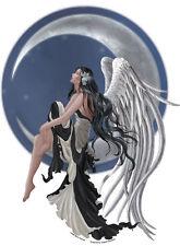 Large Moon Angel Star Gazer Fairy Sticker Car Decal Nene Thomas faery faerie