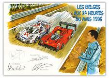 Affiche Poster GRATON Michel Vaillant 24h du Mans 30x40