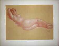 Astride Maillol Lithographie Armory New York civilisations antiques Dina Vierny