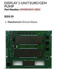 Wayne Wm001845 0002 Display Board