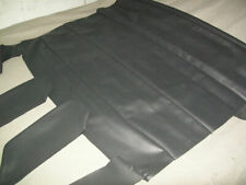 "Fiat 124 coupe Black headliner + sun visor skins fits All years ""NEW"""