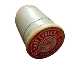 Vintage Aunt Lydia's Button & Carpet Thread Sage Green American Thread Co. CT