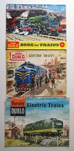 3x Hornby Dublo Model Railway Catalogues from 1959, 1960 and 1962