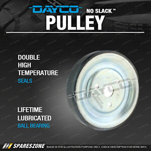 Dayco Water Pump Pulley for Mini One R56 Countryman R60 JCW 1.4L 1.6L