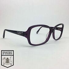 NINE West EYEGLASS Viola/Metallo Cornice Ovale marchio autentico. MOD: nw532s