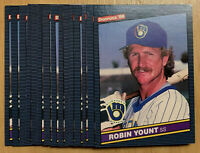 1986 Donruss #48 ROBIN YOUNT ~ 15 CARD LOT ~ HOF HALL OF FAME INDUCTEE