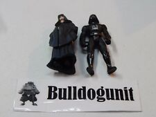Darth Sidious & Vader Figure Lot  Star Wars Power of the Force II Kenner 1996 99