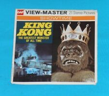 vintage KING KONG VIEW-MASTER REELS packet
