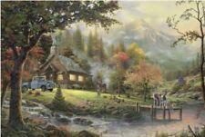 Schmidt-spiele 58465 Puzzle Thomas Kinkade Idylle Am Fluss