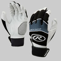Rawlings Workhorse Senior Baseball Batting Gloves - Black (NEW) Lists @ $40