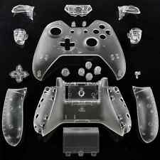 XBOX ONE CONTROLLER SHELL CLEAR FULL SHELL REPLACEMENT HOUSING XBOX 1 Free Ship