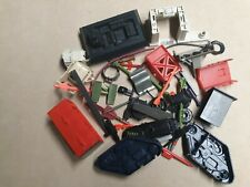 Huge Vintage Gi Joe and Other Mixed Vehicle Parts Missiles Weapons Lot Arah