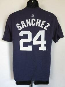 New-Flaw- Gary Sánchez #24 new York Yankees Youth XLarge (XL 18/20) Shirt