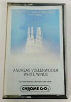Andreas Vollenweider White Winds Audio Cassette 1984 AVAF CBS