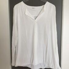 s.Oliver Shirt, Größe 46, weiß, neuwertig, Blusenshirt, ungetragen, Longsleeve