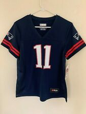 Julian Edelman New England Patriots Majestic Hashmark Player Name & Number T-Sh