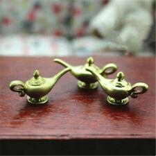 2Pcs Dollhouse Miniatures Resin Magic Lamps Tea Pot Doll House Accessories