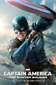 """Captain America - Winter Soldier (11"""" x 17"""")   Movie Collector's Poster Print"""