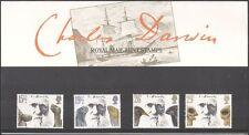 GB 1982 Darwin/Animals/Birds/Nature/Tortoise/Lizard/Skull 4v set P Pack (n43345)