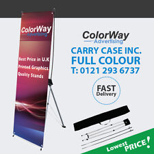 Cheapest Printed X Banner 80X180cm -  Pop Up/Roll Up/Pull up Exhibition Displa