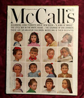 MCCALL's August 1963 PETER SELLERS VAN JOHNSON MODELS