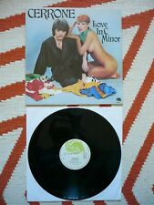 Cerrone Love In C Minor Vinyl 1976 France French Import Malligator Disco LP