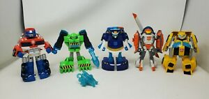 Playskool Heroes Transformers Rescue Bots Action Figures Lot of 5