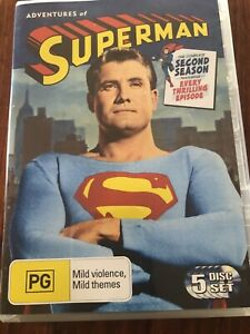 The Adventures Of Superman The Complete Second Season Five Disc Set