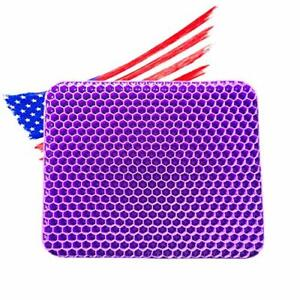 Seat Cushion for Office Chair ,Gaming Chair Double Thick Royal Ultimate Purple
