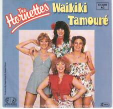 "<6136-44> 7"" Single: The Hornettes - Waikiki Tamouré - Vinyl: near mint"