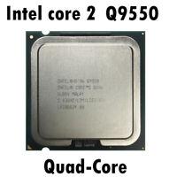 USED Q9550 CPU QUAD CORES INTEL CORE 2 QUAD Center Processor Unit 2.8GHz LGA775