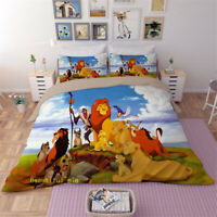 The Lion King Single/Double/Queen/King Size Bed Doona/Quilt/Duvet Cover Set