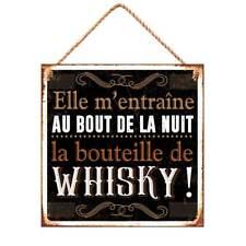 Stc – Plaque Métal – Citation wisky