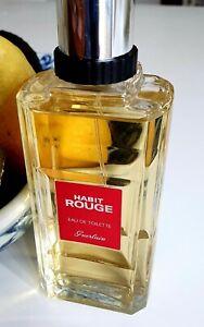 Guerlain Habit Rouge (2015) EDT 100ml Fresh woody classic gentleman's cologne