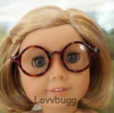 """Brown Tortoise Eye Glasses for 18"""" American Girl Doll Accessory by Lovvbugg!"""