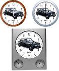 Reloj de pared con coche Motivo: MARCA R Parte 3/3-3 Varios modelos Vehículo