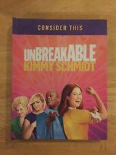 Unbreakable Kimmy Schmidt Season 1 FYC PRESS KIT Box Set Collectible DVD Netf