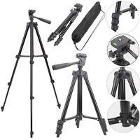 Digital Camera Camcorder Tripod Stand Holder Mount For Canon Nikon Sony + Bag