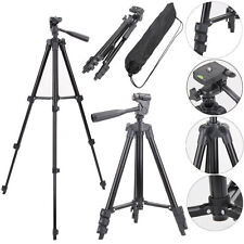 Digital Camera Camcorder Tripod Stand Holder Mount For Canon Nikon Sony + Bag