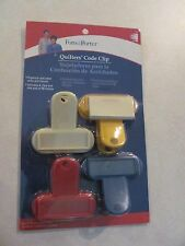 Fons & Porter Quliting Code Clips Notions / Organizing Blocks 4 Clips/50 Sheets