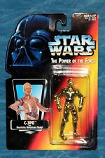 Star Wars C-3P0 with Realistic Metal Body The Power of the Force Action Figure