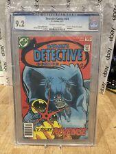 Detective Comics 12/77 474 CGC Graded 9.2 Deadshot's Revenge Off White Pages