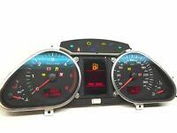 Audi A6 C6 Diesel Km/H Compteur de Vitesse Instrument Cluster Speedo