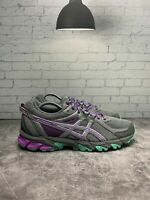 ASICS GEL-SONOMA 2 T684N Trail Running Shoes, Women's Size 9 - Gray/Purple