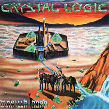 Manilla Road - Crystal Logic LP - Purple Colored Vinyl Album SEALED RECORD